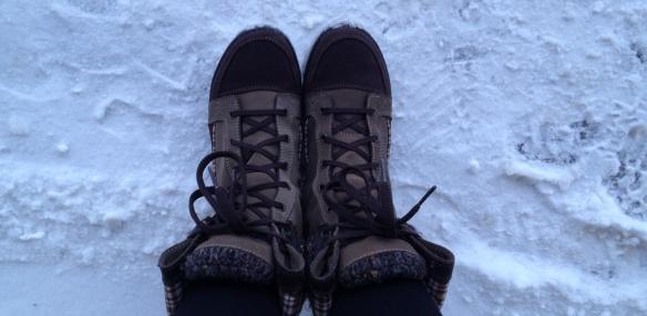 nieve botas