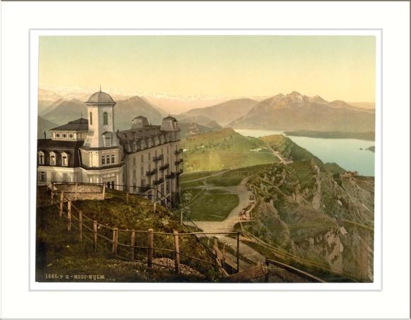 Hotel Rigi Kulm and the Alps Rigi Switzerland