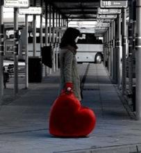 Maleta corazón